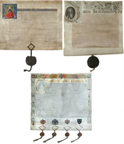 Queen Elizabeth I Charter, King James II Charter, Ordinances