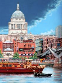 St Pauls and Jubilee Pageant - Hugh Beattie