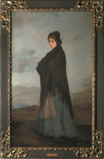 Joaquinna V, a Spanish Lady by Sir Gerald Kelly PRA