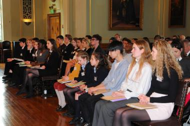 School prize giving
